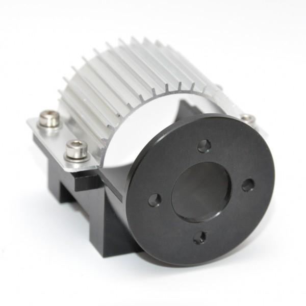 IN-RACING Motorhalter Nr. 3.36 black/Alu (36,5 mm)
