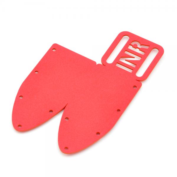 KYDEX Messerscheide rot - Modell 003