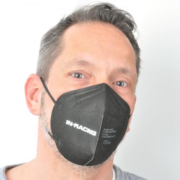 IN-RACING FFP2 - Maske (schwarz, weiß oder rosa)