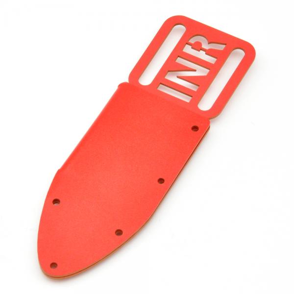 KYDEX Messerscheide rot - Modell 004