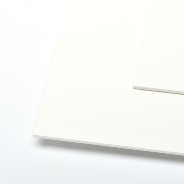 KYDEX Platte weiß 1,8 mm (30x20 cm)